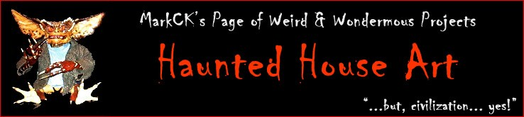 Header Haunted House Art